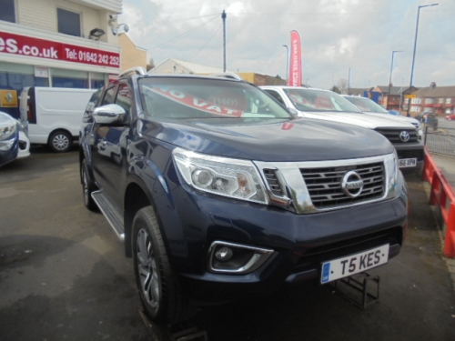NISSAN NAVARA Double Cab Pick Up Tekna 2.3dCi 190 4WD Auto NO VAT!!