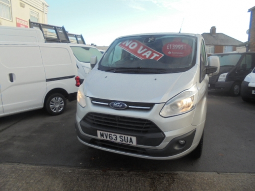 Ford Transit Custom 2.2TDCi ( 155PS ) Double Cab-in-Van 290 L1H1 Limited NO VAT!!